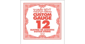 1012 .012 Electric Plain Single String