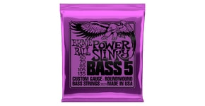 2821 Ernie Ball Power Slinky 5-string Bass Nickel Wound .050 - .135