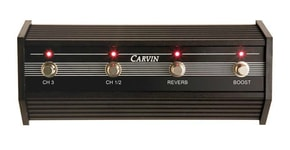 Carvin 3 Channel FOOTSWITCH for V3M Head - FS44L-V3M