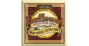 2047 Earthwood Silk & Steel Extra Soft .010 - .050 Acoustic 80/20 Bronze