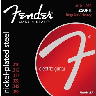 Fender 250RH Regular Heavy / 10 - 52 / struny