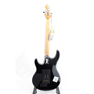 MusicMan LUKE 3 HH Black, Roasted Maple Neck , Rosewood Fingerboard