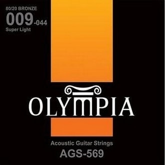 Olympia AGS569 Bronze 80/20 - 9 / 44 - akustické struny