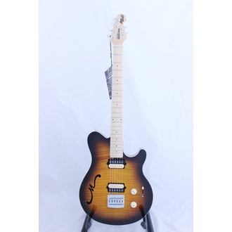 MusicMan Axis SuperSport Semi-Hollow tělo