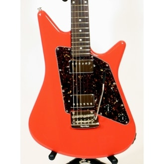 MusicMan Albert Lee HH Coral Red