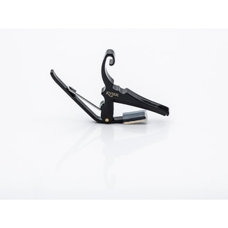 KYSER KG6B Capo Quick-change Black Acoustic