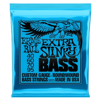2835 Ernie Ball Extra Slinky Bass Nickel Wound .040 - .095