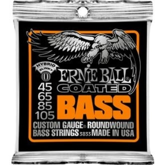 3833 Coated Bass Strings - Hybrid Slinky .045 -.105