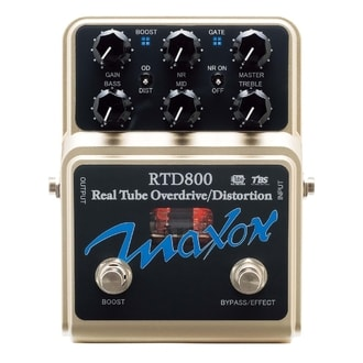 Maxon RTD800 Real Tube Overdrive-Distortion