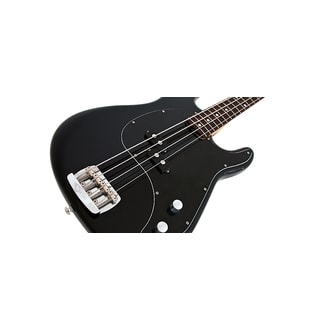 MusicMan Cutlass Bass - Black - Rosewood Neck