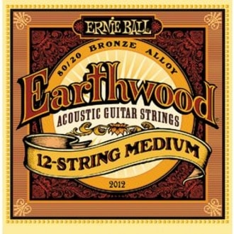 2012 Earthwood 12-string Medium .011 - .052 Acoustic 80/20 Bronze
