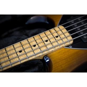 MusicMan StingRay 5 HH Vintage Tobacco Burst, Maple Fingerboard, Premier Dealer Network Limited Series