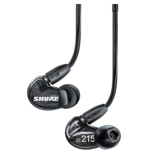 Shure SE215K Black - In-Ear sluchátka