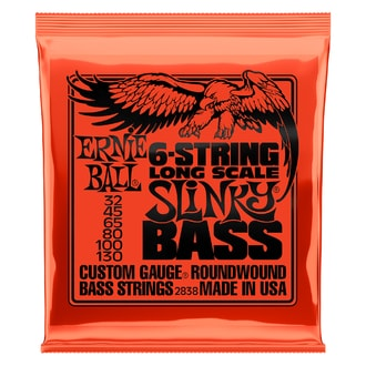 2838 6-string Slinky Bass Long Scale Nickel Wound .032 - .130