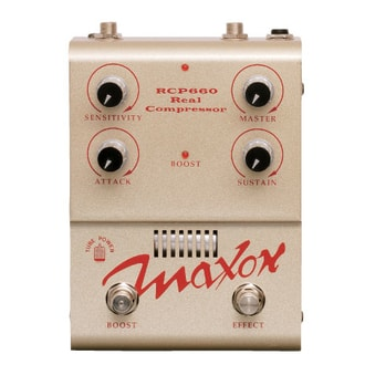 Maxon Real Tube Series - Real Compressor RCP660