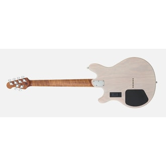 MusicMan Valentine Guitar -Trans Buttermilk - Roasted Maple Neck