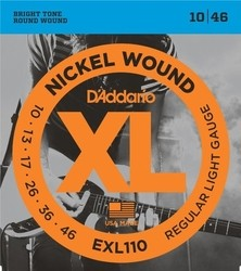 D´Addario EXL 110 Regular Light  - 10 / 46