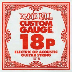 1018 .018 Electric Plain Single String